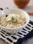 白菜の炊き込みごはん♪ごま風味