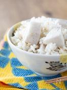 里芋とツナの炊き込みご飯