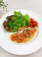 フライパンひとつdeらくウマ♡チキンソテー トマトソース