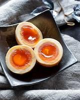 激ウマ!半熟辛味噌味玉【作り置き】