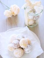 片栗粉で作る!スノーボールの作り方レシピ#簡単クッキー