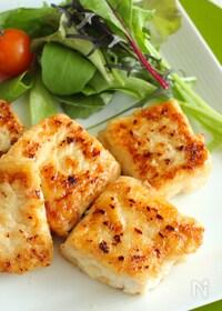 『冷凍豆腐のジューシー照り焼きステーキ』