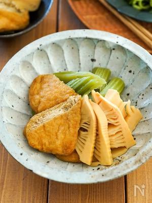 冷やしても美味♪惣菜屋さん風「ふきと筍と小揚のうま煮」