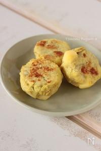 【離乳食】さつまいもとチーズのミルクお焼き