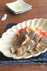 ごはんがススムお魚料理◎あじの南蛮漬け