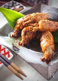 『ご飯がすすむ!!コク旨豚肉のえのき巻き【#作り置き#お弁当】』