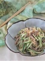 焼き豚とくらげの簡単中華風酢の物
