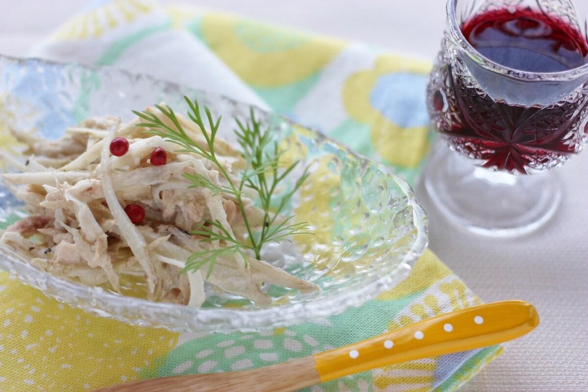 ツナとごぼうのマヨサラダ