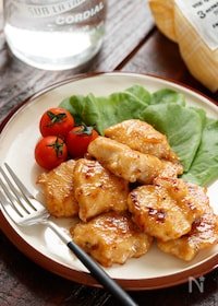 『むね肉de照りマヨチキン【#作り置き#お弁当#冷凍保存】』