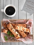 メロンパン風♪スティックトースト
