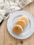 ノンオイル豆腐米粉パンケーキ♪卵なし小麦粉なし乳製品なし