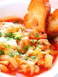 レンジで簡単!チキンと春キャベツのトマト煮込みの作り方