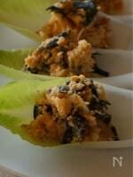 カットわかめの韓国風ポテトサラダ