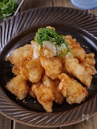 【さっぱり旨い】鶏むね肉のおろしポン酢から揚げ #大葉香る