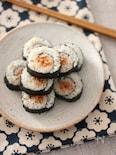 巻きすいらず&失敗なし♪キンパ風くるくる巻き寿司