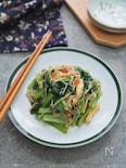 小松菜とえのきの中華風炒め
