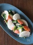 カブと塩鮭の即席旨漬け。作り置きに便利♪