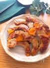 生姜でさっぱり♡かぼちゃの味噌だれ肉巻き焼き