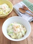 えびと春キャベツのクリーム煮