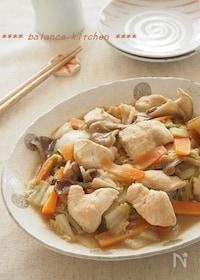 『ほったらかし!白菜と鶏胸肉の味噌バター煮』