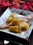 生秋鮭のピリ辛豆乳味噌煮