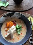 5分で完成!時短かんたん♪ピリ辛豆乳スープうどん