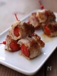 トマトの豚肉巻き