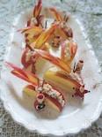 食後のデザートに☆ブルサンアップルシナモン♪デザート