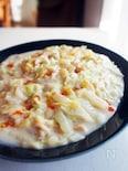 白だし×豆乳で、白菜クリーム煮