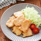柔らか鶏胸肉の生姜焼き♪綺麗に薄切りにする方法