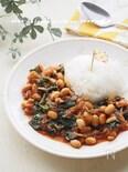 常備食材で10分!さば缶と大豆のトマト煮ライス