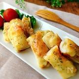 お弁当のおかず✤竹輪のポテ・サラ▪チーズ焼き