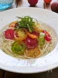 ぶっかけカラフルトマト麺