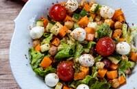 『野菜とミックスビーンズのチョップドサラダ』