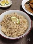 秋刀魚の炊き込み御飯☆さっぱりかぼす風味