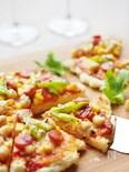 マッシュポテトで冷めても柔らか★発酵なしのピザ