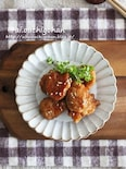 豆腐でカサ増し節約レシピ!鶏の落とし煮つくね♡