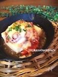 高野豆腐がお洒落なイタリアン!高野豆腐のトマトチーズグラタン
