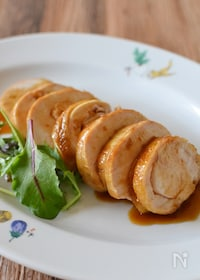 『鶏むね肉のチャーシュー【冷凍・作り置き】』
