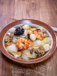 ご飯が進む海老がメインの「八宝菜」