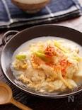 鶏たま肉豆腐