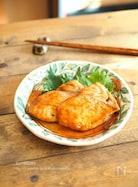 カジキマグロの生姜焼き