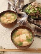 レンジで5分♪たらことくずし豆腐のスープ