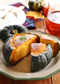 『丸ごとかぼちゃのベイクドチーズケーキ』