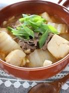 キムチの素で作る、ピリ辛スープ