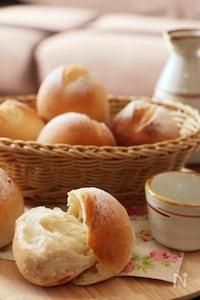 約30分で完成⁉︎不思議パンの酒粕プチパン