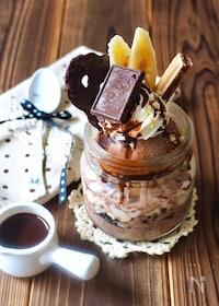 『チョコレート☆ミニパフェ』