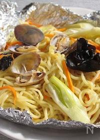 『あさりの中華蒸し麺』
