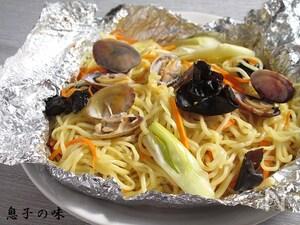 あさりの中華蒸し麺