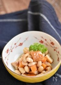 『竹輪と大豆のうま煮【冷凍・作り置き】』
